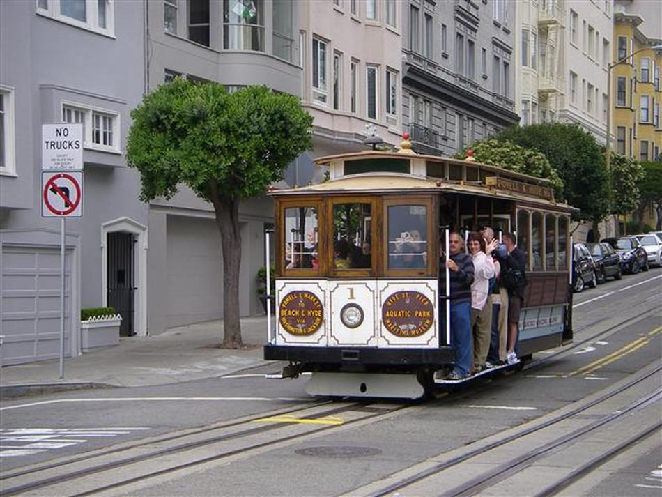 Cable cars of San Francisco - Scottish Travel Photographer